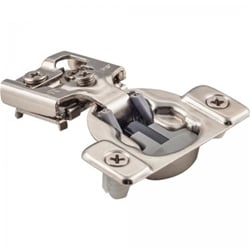 Soft Close Concealed Cabinet Hinge, 3/8 inch Overlay