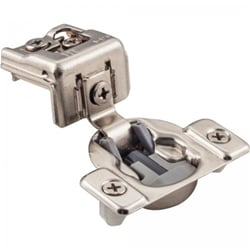Soft Close Compact Cabinet Hinge, 1-1/4 inch Overlay