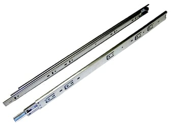 Hawthorne & Reid, HR2036100001, 10 inch, 50 lb. Full Extension Drawer Slide, Zinc