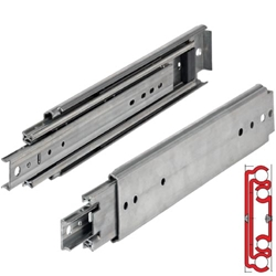 Hettich, 03320-060-44, 60 in.500 lb. Full Extension Heavy Duty Slide