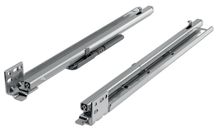 9 Quot Quadro Faq Undermount Drawer Slides Soft Close 1135596