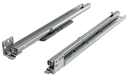 "21"" Quadro FAQ Undermount Drawer Slides, Soft Close, 7/8 Extension"