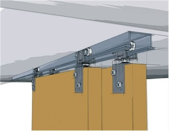 Grant Sliding Door Hardware - Perfect for Hanging & Sliding Doors