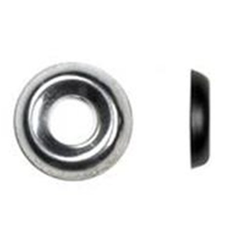 Deerwood, MCUPN8XXXXXN, No.8 Finishing Cup Washers, Nickel