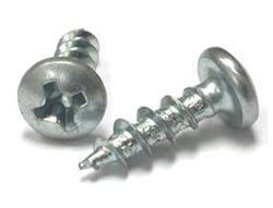"#8 X 1/2"" PAN HEAD PHILLIPS SCREWS 100/BAG"