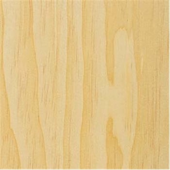 Wood Veneer,Pine, Clear White, 2x8,PSA