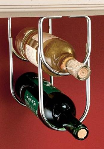 Rev-A-Shelf, 3250CR, Double Wine Bottle Rack Chrome Plate