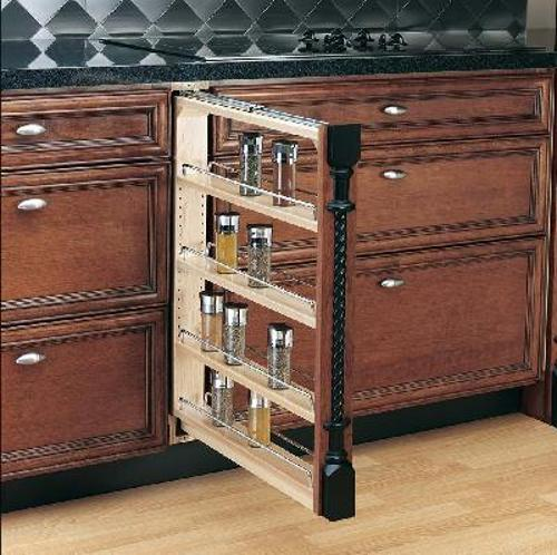 Rev-A-Shelf, 432-BF-3C, 3 inch Base Filler Organizer