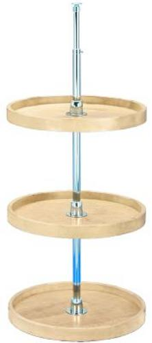 Rev-A-Shelf, 4WLS073-18-536, 18 Inch Wooden Classics Full Circle Lazy Susan