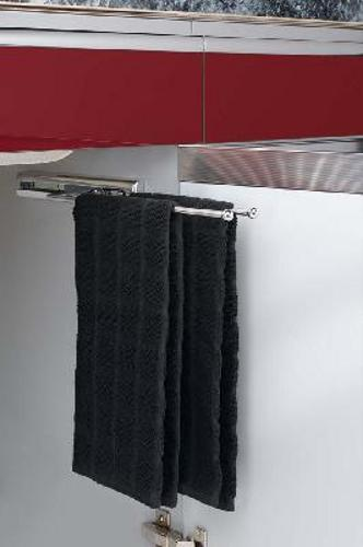 Rev-A-Shelf 2 Prong Pull-Out Towel Bar