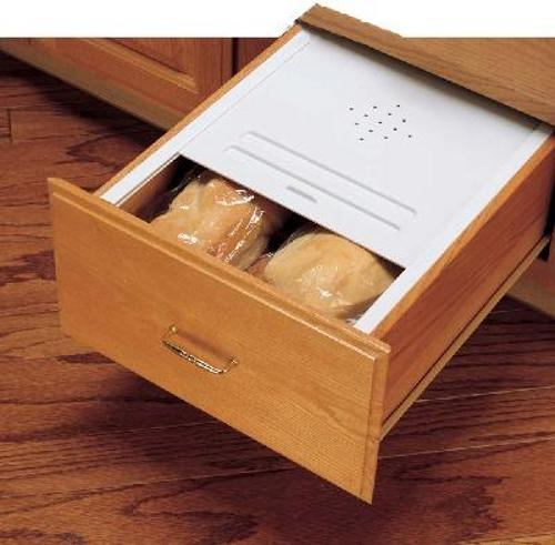 Rev-A-Shelf, BDC-200-11, Bread Drawer Cover Kit, White