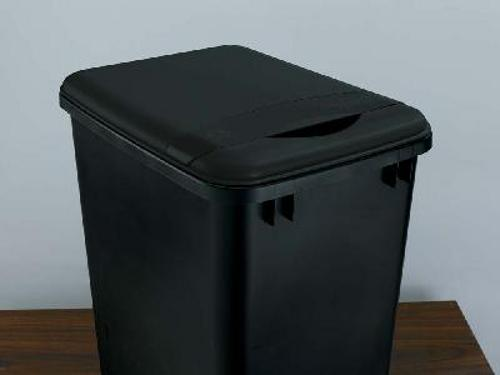 Rev-A-Shelf, RV-35-LID-18-1, 35 Qt. Trash Can Lid, Black