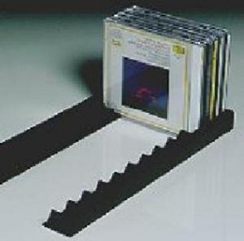 Storage Rail For Compact Disc 372 Cd 10