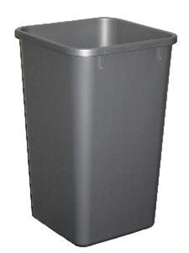 Rev-A-Shelf, RV-1024-17-52, Replacement Trash Can, 27 Quart, Silver
