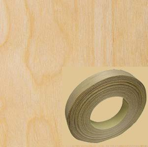 Veneer Tech, EB44X0210153MNB, Edgebanding, White Birch, PSA Backed, 13/16 in, 50