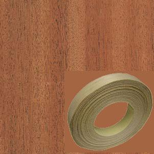 Veneer Tech, EB19X0210153MNB, Edgebanding, Mahogany, PSA Backed, 13/16 in, 50 ft