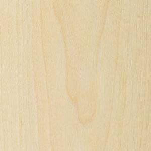 Veneer Tech, VNMAPLEFC2X810, Wood Veneer, Maple, Flat Cut, 2 x 8, 10 mil Paper