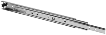 "34"" Heavy Duty Drawer Slides, Zinc, FR 5609"