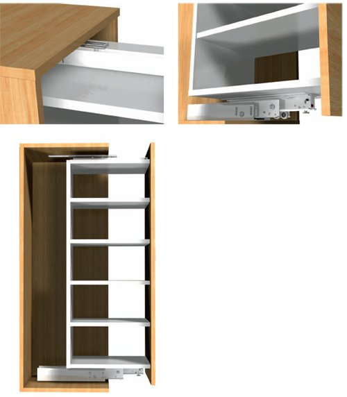 34 Quot Heavy Duty Pantry Slide Fr777 7729