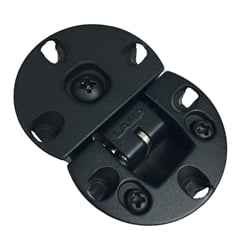 Drop or Flap Hinge, 16 mm overlay, Black