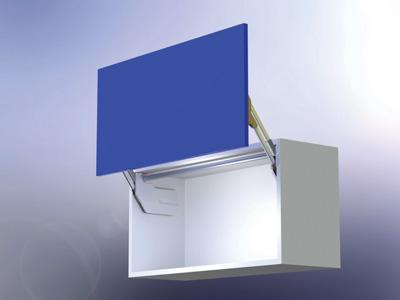 Vertical Lift Up Door Mechanism 18 21 Lbs Slu Elan M4