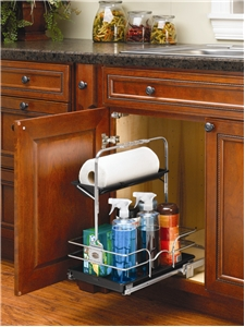 Under Sink Pull Out Chrome Caddy 544 10c 1