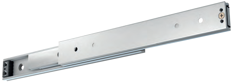 "40"" Super Heavy Duty Drawer Slide, Aluminum"