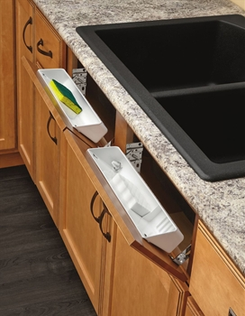 Rev A Shelf 6572 14 11 52 14 Quot Polymer Tip Out Trays White