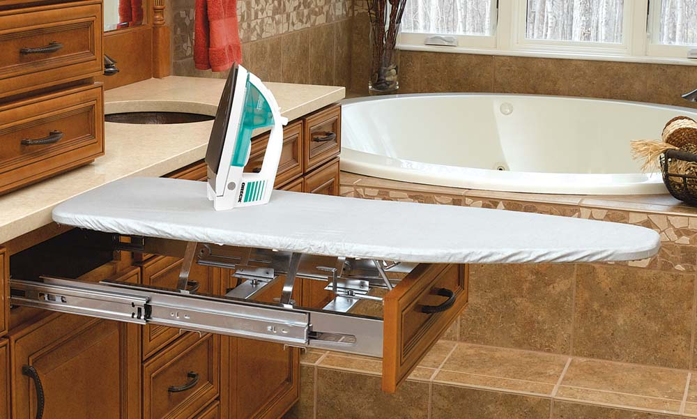 Rev-A-Shelf, VIB-20CR, Fold-Out Ironing Board for Drawer