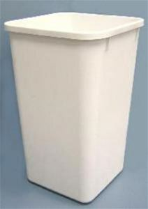 Replacement Trash Can 27 Quart White Rv 1024w 52